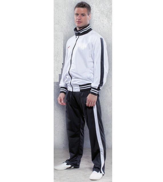 Tracksuit Topten Training Suit Stripes, White/Black