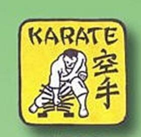 Broderat Märke Karate Rebreakable