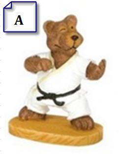 Mini Martial Arts Bears