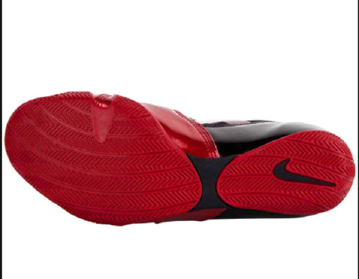huge discount d3c75 92f30 Nike HyperKO Boxshoe, Black Red White · Click to enlarge image