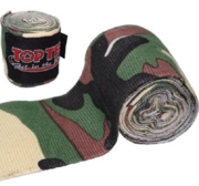 Topten Handwrap Elastic Camo Green/Brown 2,5m