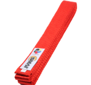 Belt with WKF logon, Red