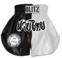 Blitz  Kids Thaishorts TYRESÖ Svart/Vit