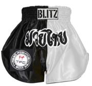 Blitz Kids Thaishorts TYRESÖ Black/White