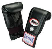 Twins Bagglove Leather, Black L-XL