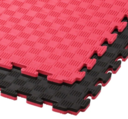 Puzzlemat Jigsaw Black/Red 1x1 meter / 2 cm