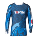 "Topten Rashguard Longsleeved ""Mohicans""Blue"