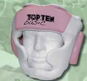 Topten Basic Headguard White/Pink