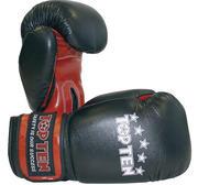 Topten Thaiboxningshandske 10 oz, Svart