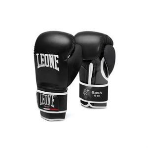 Leone Boxhandske Flash, Svart 10-16 oz