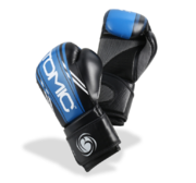 Bytomic Boxglove AXIS, Black/Blue 10-16 oz