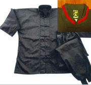 Playwell  Kung Fu Instructors suit Cotton, trousers with cuff.