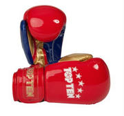 Topten Boxingglove Champion, Red/Gold 10-12 oz