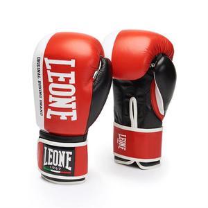 Leone Boxhandske Challenger Röd 10-18 oz