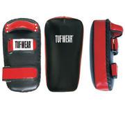 Tuf-Wear Thaimits Läder, Svart/Röd (Styck)
