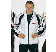 Tracksuit Topten Pique, First Modell, White
