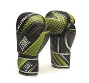 Leone Boxglove Blitz, Black/Green 10-16 oz