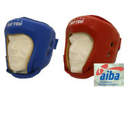 AIBA Topten Head guard  Leather