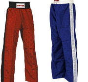 Topten trouser Classic Logo, Red and Blue