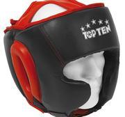 Topten Headguard Cheekboneprotection Black/Red