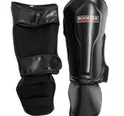 Booster Shin/Instep ANATOMICAL Black