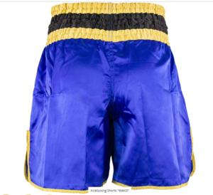 Topten Kickboxningsshorts WAKO  Blå/Svart