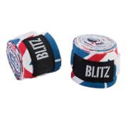 Blitz Handwrap Elastic 4,5 m, Union Jack