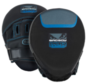 Bad Boy Pro Series 3.0 Black/Blue Leather(pair)