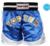 Topten Kickboxingshorts Kick Light, Blue