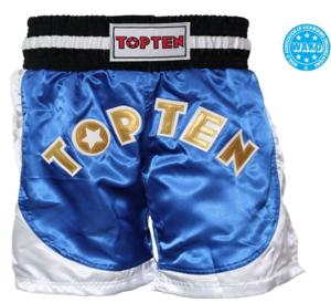 Topten Kickboxningsshorts Kick Light  Blå