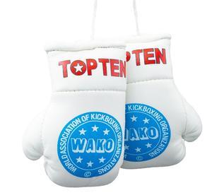 Mini boxhandskar Topten Wako Pro, Vit