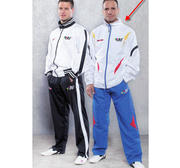 Tracksuit Topten ITF Training Suit, White/Blue