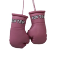 Mini boxing gloves Topten, Pink