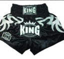 King Thaishorts Big Tribal, Svart