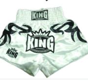 King Thaishorts Big Tribal, White