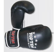 Topten Boxglove Superfight 3000, Black 12 and 14 oz
