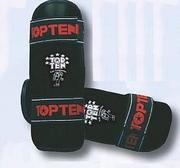 Topten Shinguard Kids Black, One size