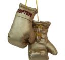 Mini boxing gloves Topten, Gold