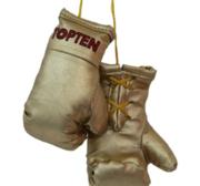 Mini boxhandskar Topten, Guld