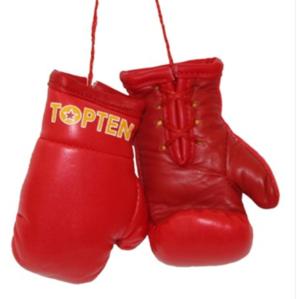 Mini boxhandskar Topten, Röd