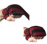 Tuf-Wear Padded Handwrap Elastic Black/Red 3,5m