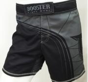 Booster Shorts MMA 20, Kort modell Grå/Svart