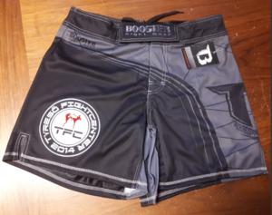 Booster Shorts MMA 20 TYRESÖ, Kort modell Grå/Svart