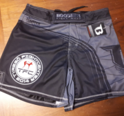 Booster Trunks MMA 20 TYRESÖ, Short model Grey/Black