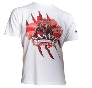 """Hayashi T-shirt """"Tiger"""", Vit"""