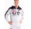 Topten ITF Peaks Taekwon-Do Hood, White/Black