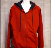 MacOne  Hood, Red Large