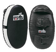 Topten  Oval Thai-Kicking Shield Black/White (single)