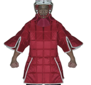 Full contact Escrima body armour, Red