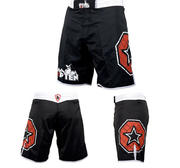 Topten MMA Board Shorts, Black